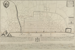 ICHNOGRAPHIA Urbis LONDINII = A PLAN of the City of LONDON, after the great FIRE in the Year of OUR LORD 1666